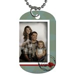 We are family tag 2 - Dog Tag (One Side)