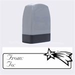 From-To 7  -  Rubber stamp - Name Stamp