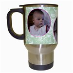 bubblegum cup - Travel Mug (White)