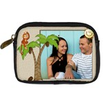 Tropical Vacation Digital Leather Camera Case - Digital Camera Leather Case