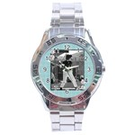 Men s watch 5 - Stainless Steel Analogue Watch