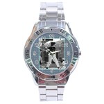 Men s watch 6 - Stainless Steel Analogue Watch