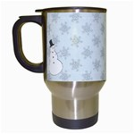 Snowman Travel mug - Travel Mug (White)