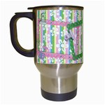 Fun Flowers Travel Mug - Travel Mug (White)
