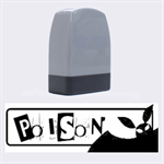 Poison - Rubber stamp - Name Stamp