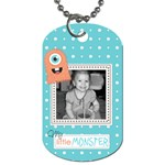 Little Monster Dog Tag 3 - Dog Tag (One Side)