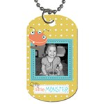 Little Monster Dog Tag 4 - Dog Tag (One Side)