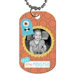 Little Monster Dog Tag 5 - Dog Tag (One Side)