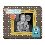 Little Monster Mousepad 3 - Large Mousepad
