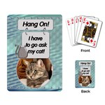 Cat Playing Cards - Playing Cards Single Design