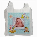 Blanky Bunny Newborn Baby recycle bag 2 sides - Recycle Bag (Two Side)