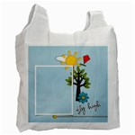 Recycle Bag (One Side-)template-Summer3 - Recycle Bag (One Side)