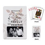 Family Playing Cards - Playing Cards Single Design (Rectangle)
