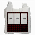 RED TARTAN -  BAG - Recycle Bag (One Side)