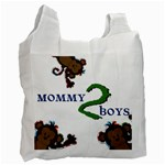 Mom to boys - Recycle Bag (One Side)