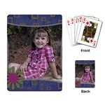 Playing cards with flower - Playing Cards Single Design (Rectangle)