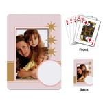 pink - Playing Cards Single Design (Rectangle)