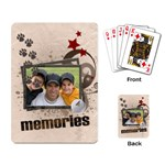 Memories Kits - Playing Cards Single Design