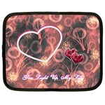 You Light Up my Life Heart2 13 inch (XL) Netbook Case - Netbook Case (XL)