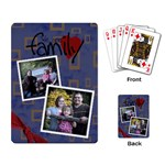 Family Playing Cards funky - Playing Cards Single Design (Rectangle)