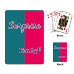 Birthday cards Party favor - Playing Cards Single Design (Rectangle)