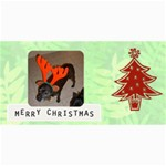 ChristmasPhoto Card 2 - 4  x 8  Photo Cards