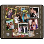 Family Medium Size Fleece Blanket - Fleece Blanket (Medium)