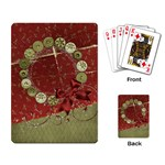 Holiday Wreath playing cards - Playing Cards Single Design (Rectangle)