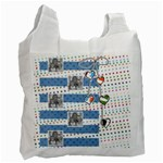 polka dot and hearts - Recycle Bag (One Side)