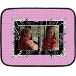Fancy Little Girl Mini Fleece Blanket - Fleece Blanket (Mini)