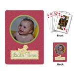 Playing Cards (Single Design) Bath Time - Playing Cards Single Design (Rectangle)