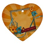 You are my sunshine -ornament - Ornament (Heart)