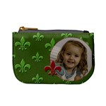 Green Flor de Lief coinpurse - Mini Coin Purse