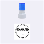 Raphael - Rubber Stamp Round (Small)