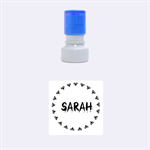 Sarah BATS - Rubber Stamp Round (Small)