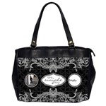 Enjoy The Simple Things Oversized Office Handbag - Oversize Office Handbag (2 Sides)