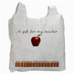 GIFT FOR TEACHER - Recycle Bag (One Side)