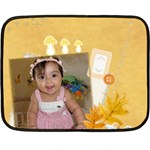 lena002 - Fleece Blanket (Mini)