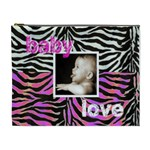 Baby Love Pink & Zebra cosmetic case extra large - Cosmetic Bag (XL)
