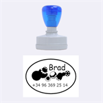 Brad mobile - Rubber Stamp Oval