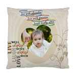 Kalyn Live Laugh Love - Standard Cushion Case (Two Sides)