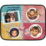 swanika-finalblanket - Fleece Blanket (Mini)