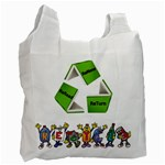 library bag - Recycle Bag (One Side)