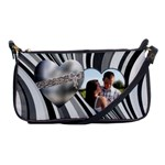 Swirl Heart Shoulder Clutch Bag