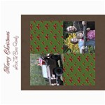 Flor de Lis Christmas card - 5  x 7  Photo Cards