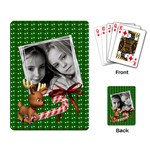 Christmas - Playing cards - Playing Cards Single Design