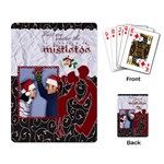 Kiss me under the mistletoe - Playing cards - Playing Cards Single Design (Rectangle)