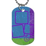 Snowdays tag - Dog Tag (One Side)