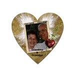 In Memory of Grandpa and Grandma G - Magnet (Heart)