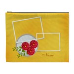 Cosmetic Bag (XL)- template flowers1
